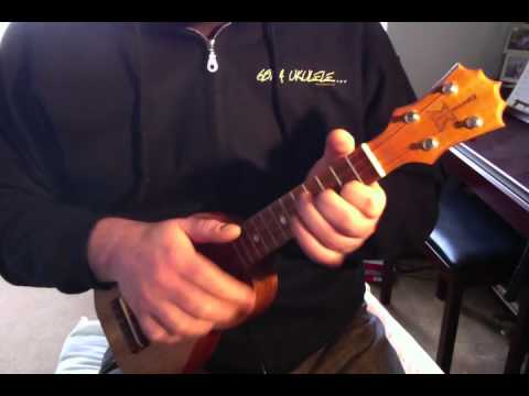 Dancing In The Dark Ukulele Version Youtube
