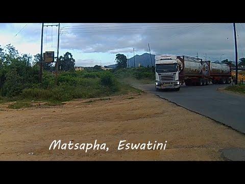 Matsapha to Ngwenya Border Post Eswatini (Swaziland) in 6 minutes