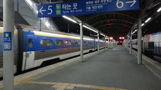부전역 새마을호(태백눈꽃열차) 출발영상(Saemaeul…