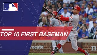 Top 10 first basemen in the Majors right now