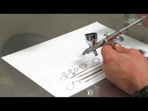 Airbrush Quick Tips - Reducing paint in your airbrush cup.