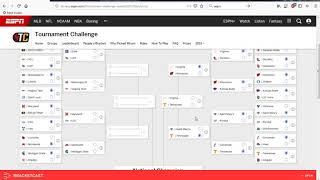 2019 NCAA Tournament Bracket Picks Predictions Video