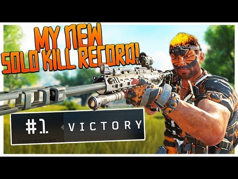 My BEST GAME! - CoD: Blackout is HERE! - PS4 Pro BO4: Blackout BR Solo Win!