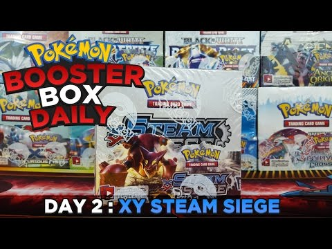 Pokemon BOX Daily - HEAVY METAL STEAM SIEGE Booster Box Opening - Day 2