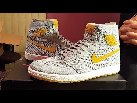 32fe205e7476 Is KIXSQUARE Legit  The Honest Truth!! + Air Jordan 1 Retro High Flyknit  Wolf Grey Review!!!