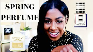 SPRING PERFUMES | CREED AVENTUS FOR HER | BALENCIAGA  | FRAGRANCE REVIEW