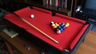 Играем в мини-бильярд дома - 1 (Play mini pool table at home)(, 2012-07-17T11:45:57.000Z)