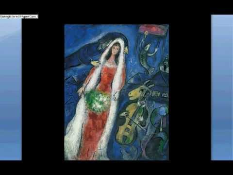 Marc Chagall's paintings slideshow
