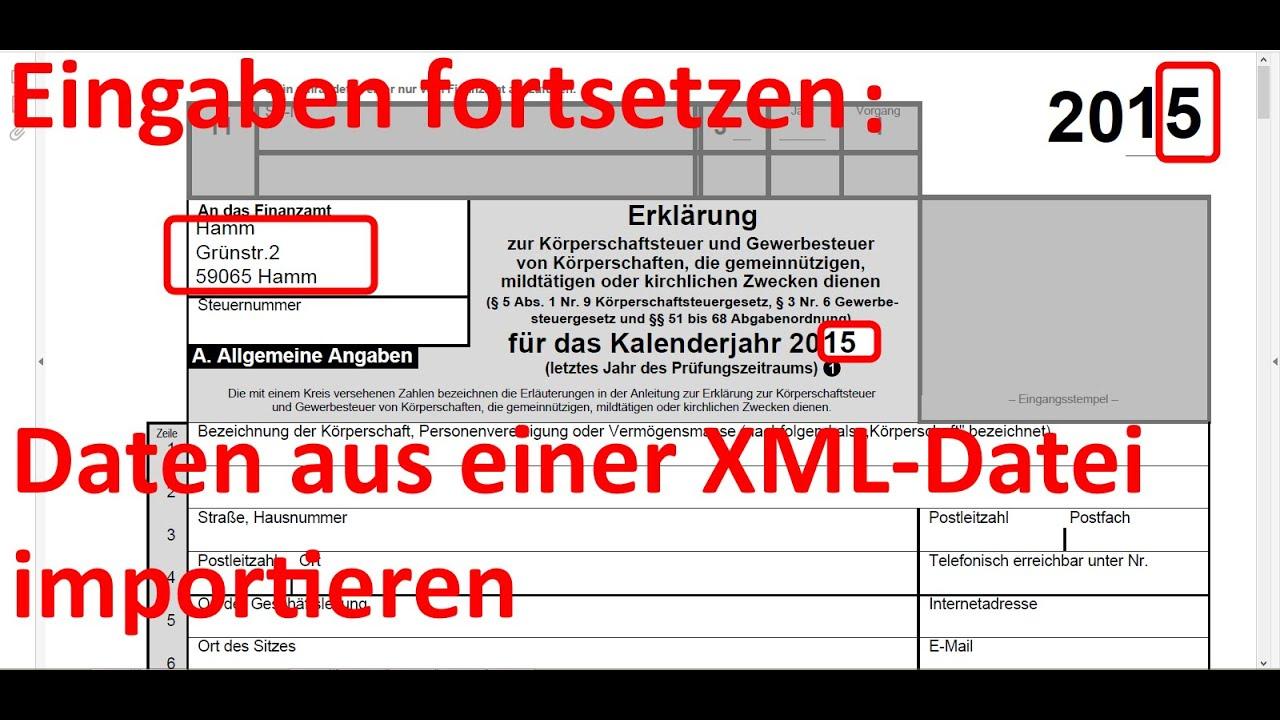 W_0184 =Folge003 =Steuerformular Gem 1 =mit XML Datei =alten Text ...