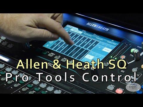 Allen & Heath SQ-5 Pro Tools DAW Control