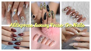 Nail Shop Who? AliExpress Luxury Press On Nails Haul | All Under $5????