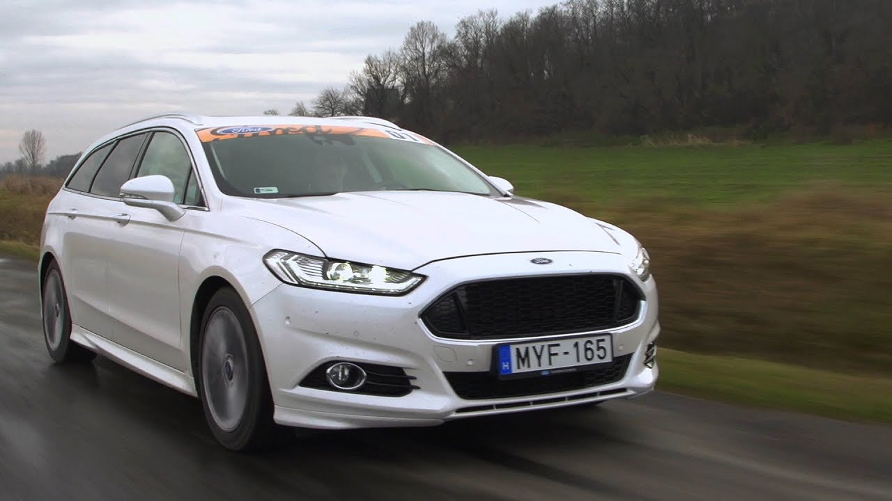 Ford Mondeo 2015 White >> Ford Mondeo (2015) - YouTube