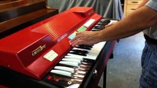 Farfisa 60s Vintage Compact Organ SOLD!!