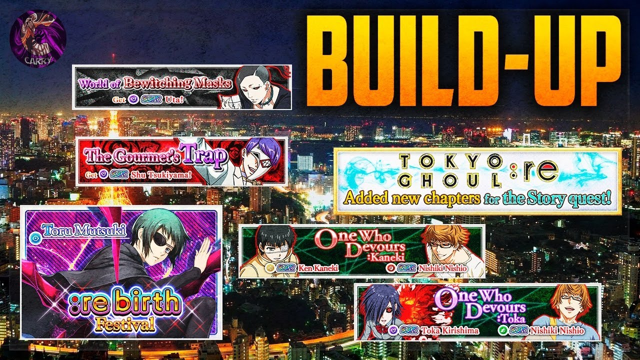 BUILD-UP + TICKETS | Tokyo Ghoul :re birth Español - YouTube