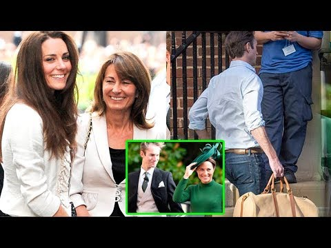 Kate's sister Pippa Middleton & her husband wellcome their first baby boy at Lindo Wing