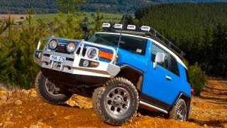 Watch as ARB QLD's Roger Vickery transforms a stock FJ Cruiser into...