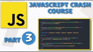 JavaScript Crash Course - PART 3