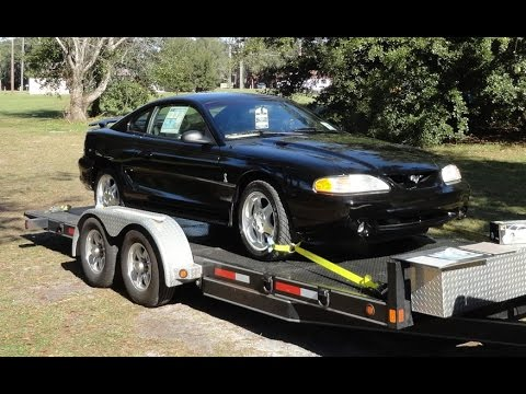 1995 Ford Mustang Svt Cobra In Black With Only 104 Original Miles