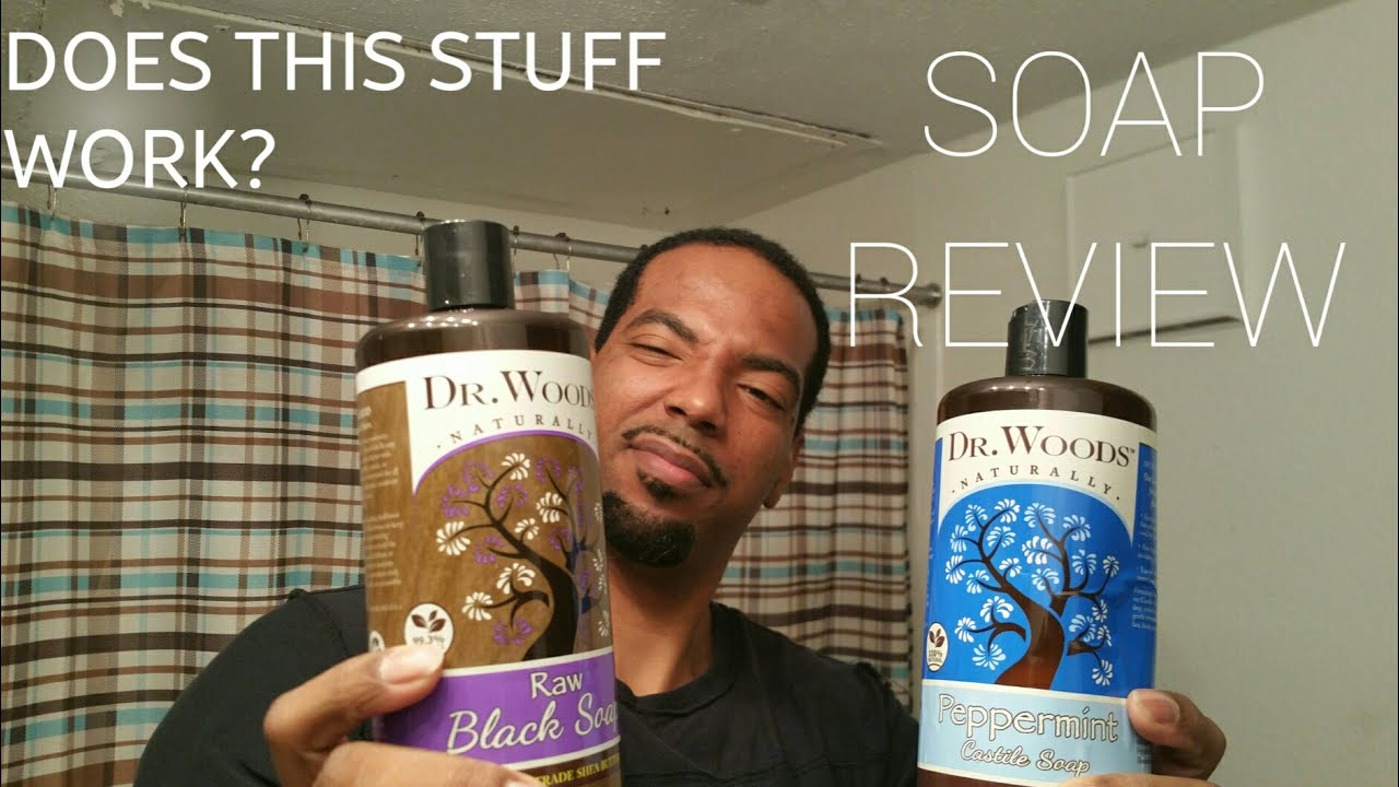 Dr Woods soap review