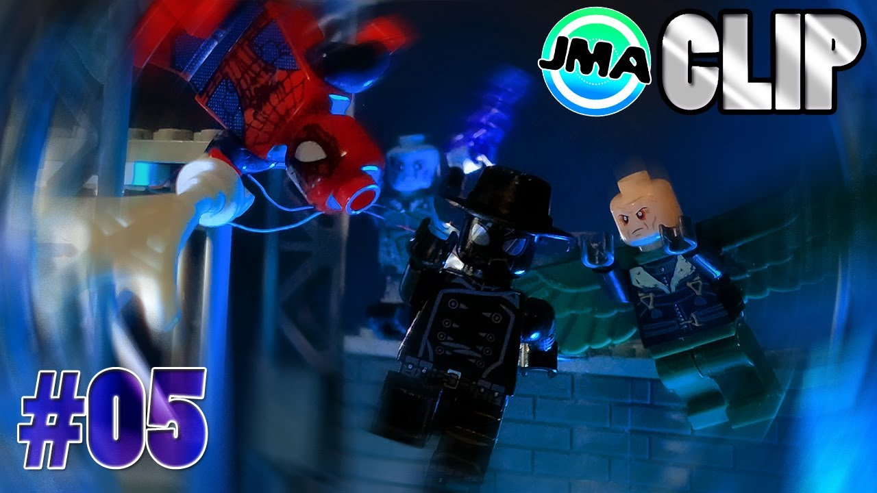 Into the Spider-Verse pt 2 [CLIP 1] Amazing Alliance#05 - Brickfilm / Stop Motion/ Animation