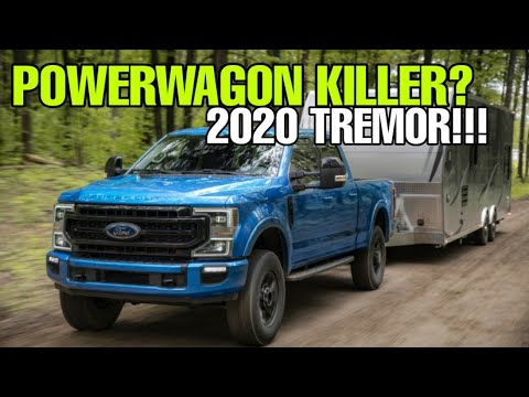 NEW OFF ROAD 2020 SUPER DUTY Tremor! POWERWAGON killer? Find out!