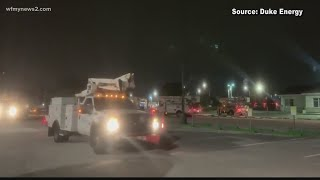 Duke Energy Prepares For Second Round Of Power Outages