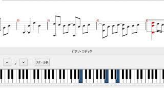 まず、ソロギターTAB譜を作成してそれをソフトで変換しました。 変換前...