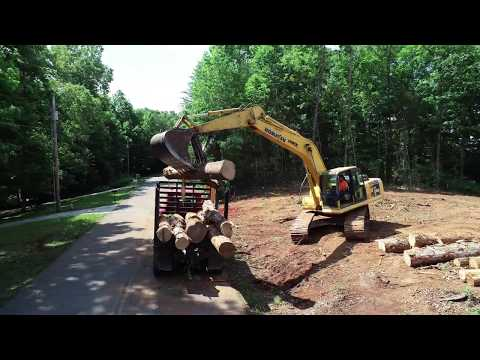 LTS Construction of Huntland TN land clearing project 10