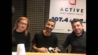 Ο χορογράφος Φώτης Νικολάου στο στούντιο του Active