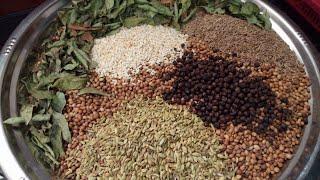 வறுத்து அரைத்த கொத்தமல்லி பொடி/Kothamalli Podi in Tamil/Coriander Powder in Tamil