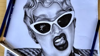 How To Draw Cardi B! Step By Step - Invasion Of Privacy