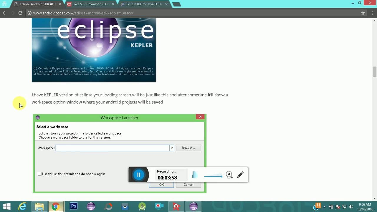 Eclipse Android Download