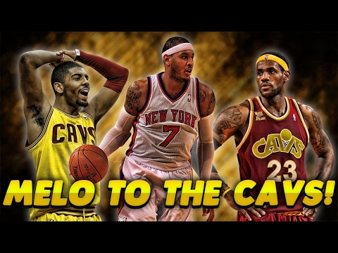 CARMELO ANTHONY JOINS LEBRON JAMES AND THE CAVALIERS! NEW BIG 3 WITH KYRIE! NBA 2K17 MyTeam Gameplay