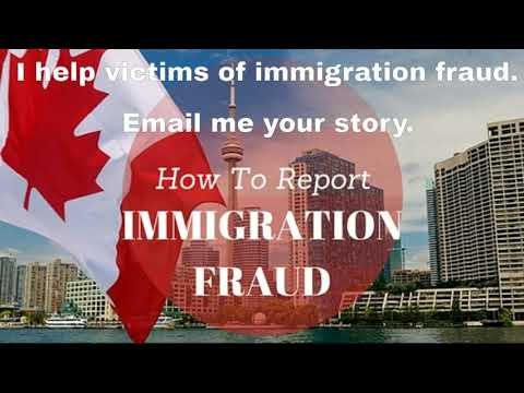 Fighting Against Immigration Fraud.