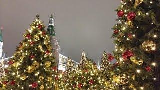Рождественская Москва.