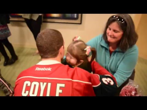 Charlie Coyle Visit │ Gillette Children's Specialty Healthcare