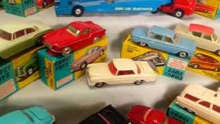COLLECTION MATCHBOX, DINKY TOYS, CORGI TOYS, SOLIDO. Diecast & Toy Vehicles 1953 - 1962
