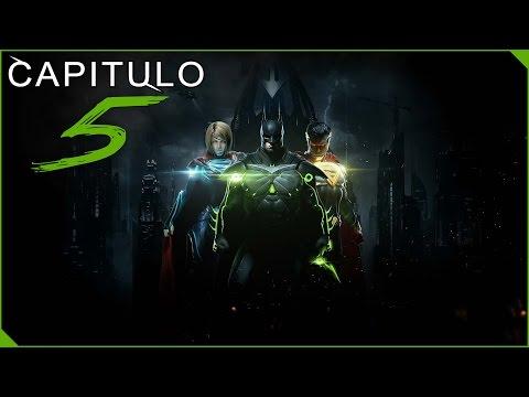 INJUSTICE 2 MODO HISTORIA ESPAÑOL | CAPITULO 5 | La Muerte de Superman