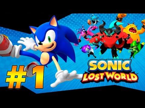 Прохождение Sonic Lost World (PC) #1 - Windy Hill, Zazz (русские субтитры)