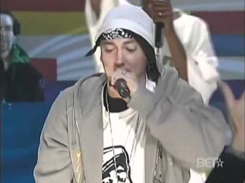 Eminem, 50 Cent, Cashis, Lloyd Banks & Tony Yayo - You Don't Know (Live 106 & Park, 12-4-06)