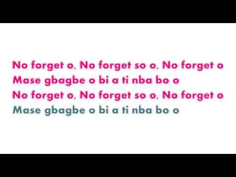 Adekunle Gold ft Simi   No Forget Video Lyrics