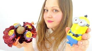 Букет из конфет своими руками. Миньоны делают поделку. Оригинальные подарки(Идеи поделок на каждый день! Видео мастер классы для детей с игрушками! Мы рады поделиться с вами новой поде..., 2016-04-28T03:19:47.000Z)
