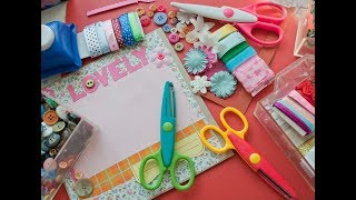 How to Make a Scrapbook - A Step by Step Process to Scrapbooking