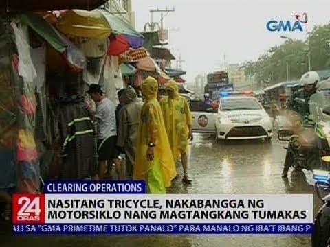 24 Oras: Mga ilegal umanong nagtitinda sa bangketa, kanya-kanyang baklas ng puwesto