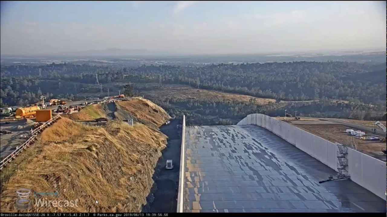 Oroville Dam Potential Earthquake Footage