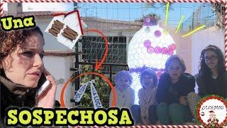 VLOGMAS: Llamamos a la POLICÍA por una CASA SOSPECHOSA + ¡MUÑECO de NIEVE GIGANTE! | Familia Tutti