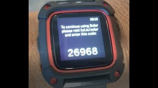 Fitbit Pebble To continue visit kzl.io and enter this code Fix