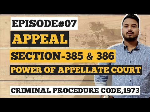 powers of appellate court under crpc