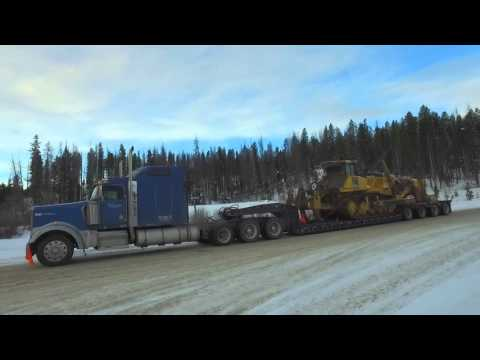 152,000 lbs over the continental divide!