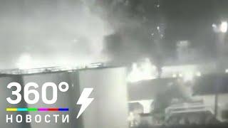 В Одессе сгорел завод